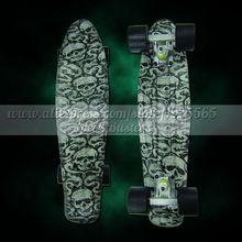 "Peny skateboard wheels longboard 22"" Retro Mini skate trucks Fish Long Board cruiser complete tablas de skate pp women men skull //Price: $US $44.76 & FREE Shipping //     #tshirt"