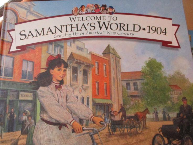 Welcome+to+Samantha's+World+-+1904+american+girls