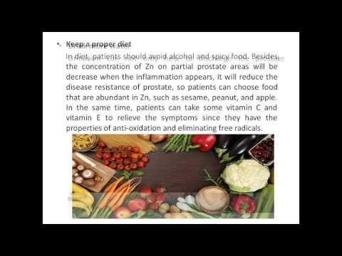 Prostatitus food allergies