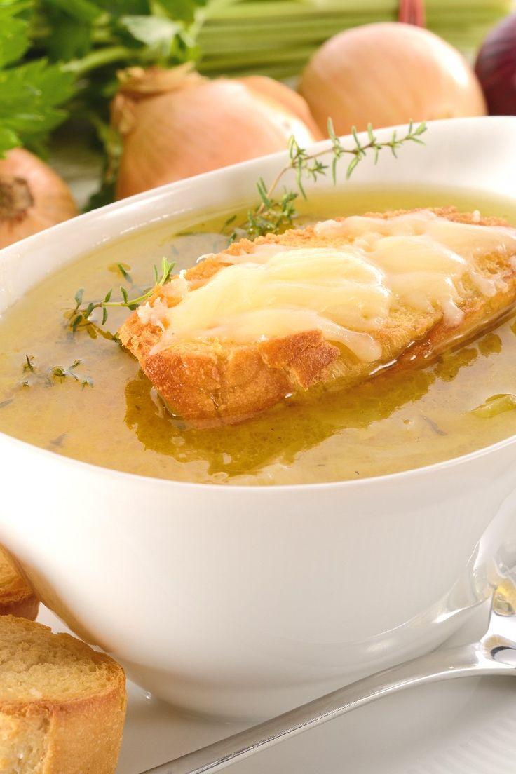 olla de barro sopa de cebolla francesa (los vigilantes del peso)