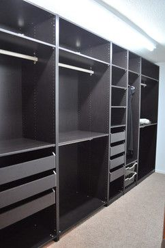 IKEA Pax Storage System Design, Pictures, Remodel, Decor and Ideas