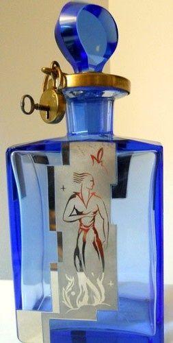 locked perfume bottle