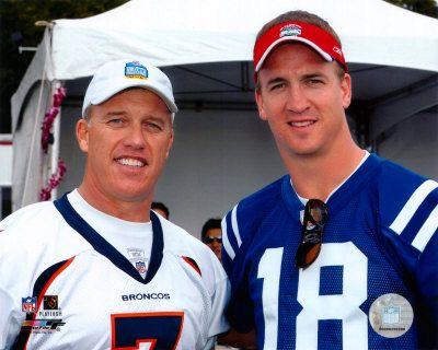 Peyton Manning & John Elway