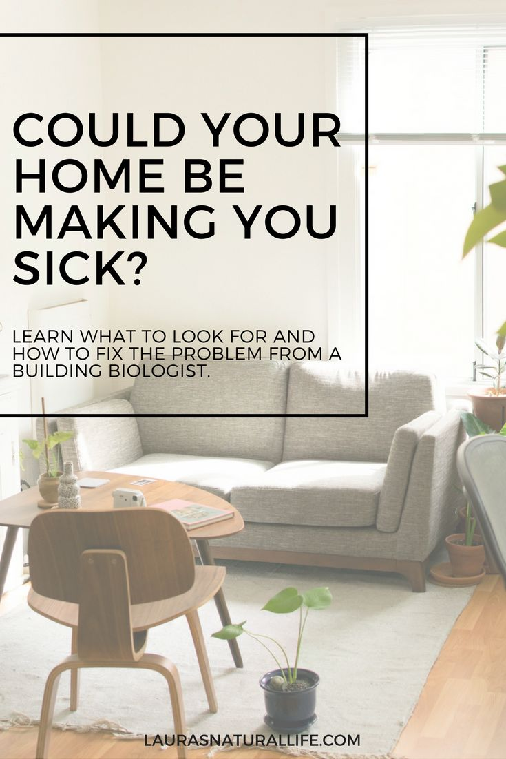 Could your home be making you sick? Sick building syndrome, chemical sensitivity, mold illness, environmental illness. Click through to learn more.