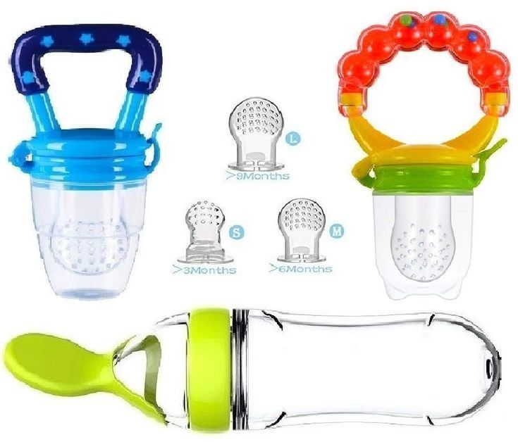 Baby food feeder pacifier fruit fresh silicone bottle