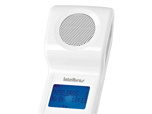Telefone Sem Fio 1,9 GHz Intelbras TS8120 Identificador de Chamadas Viva-Voz Display LED - Telefone sem Fio - Magazine Luiza