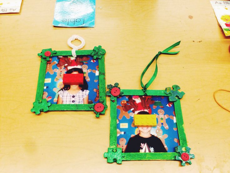 17 best images about kindergarten arts crafts hands on for Popsicle stick picture frame christmas