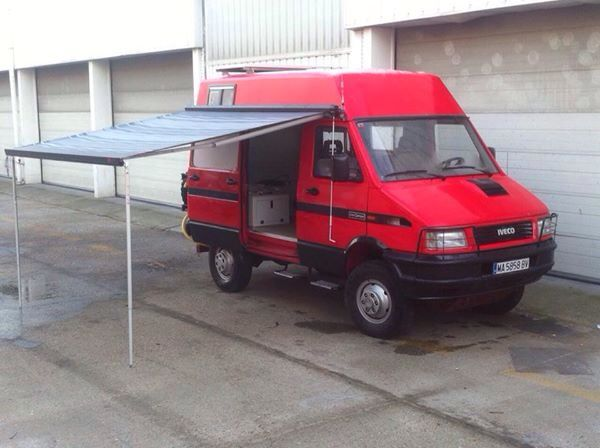 Iveco Daily 4x4 by Uro Camper  Iveco Daily 4x4  Pinterest  4x4, Expedition vehicle and 4x4 ...