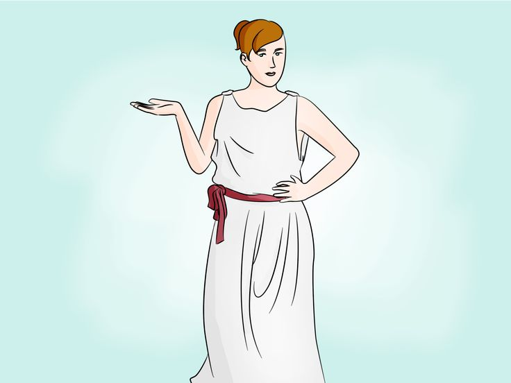 Three ways to tie a toga!