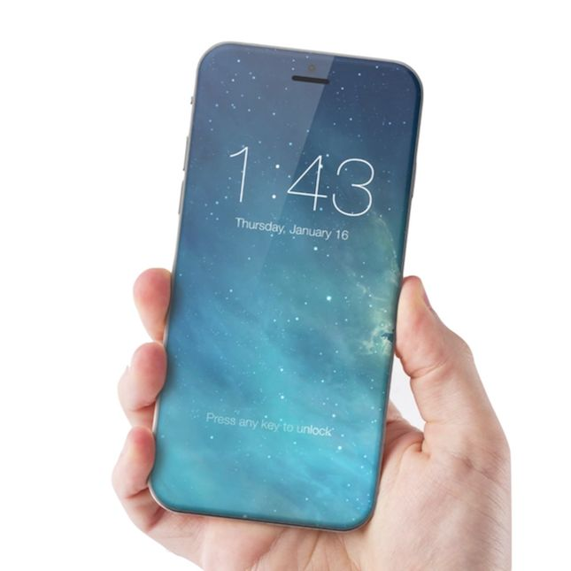 These New iPhone 7 Rumors Show a WHOLE New Phone via Brit + Co.