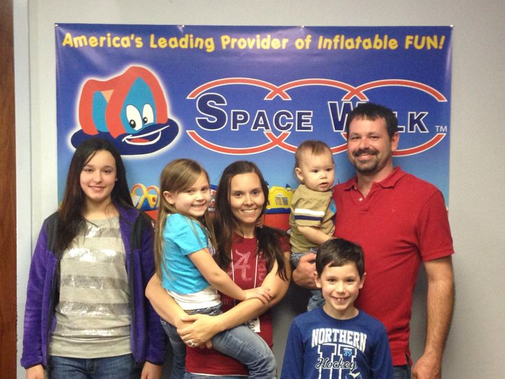 The space walk family kids are super excited to start work!!!