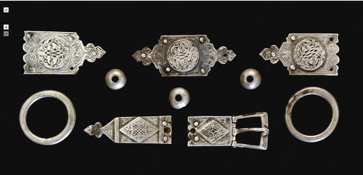 Silver and Niello, Golden Horde, 14th Century