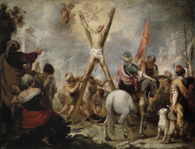 Το μαρτύριο του Αγίου Ανδρέα (1675-82) Μουσείο ντελ Πράδο στη Μαδρίτη