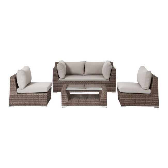 Gotowy Zestaw Mebli Tarasowych Blooma Maevea Technorattan Gotowe Zestawy Meblowe Meble Ogrodowe Meble I Garden Furniture Sets Furniture Furniture Sets