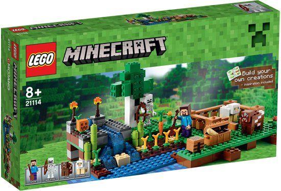 LEGO Minecraft De Kwekerij - 21114
