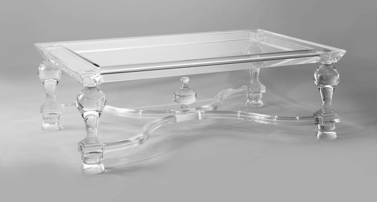 Acrylic Coffee Table CT002   The Odd Chair Company. Favorite!!  Only would want it square.