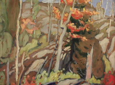 Haliburton ontario -by Lawren Harris of the Group of Seven 1915
