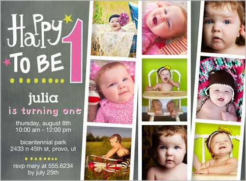 The 103 best baby girls 1st birthday invitations images on shutterfly offers baby girl first birthday invitations in a variety of styles and colors create custom birthday invites for her special day stopboris Image collections