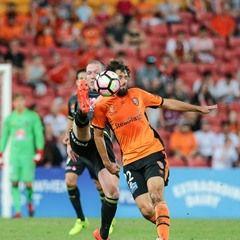 Hyundai A League Football Match - Brisbane Roar FC vs Wellington Phoenix