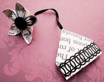 Its not just any Corner Bookmark - It's So Very Cheri