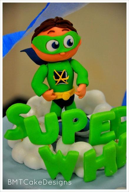 Super Why Cake/Cupcake