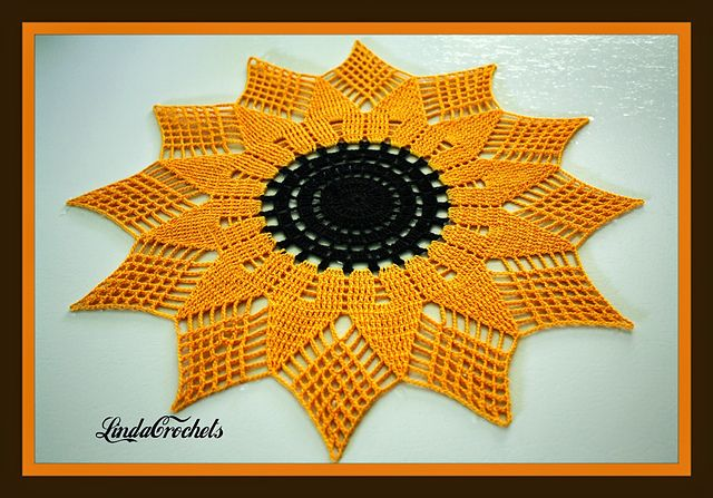 Sunflower Doilies