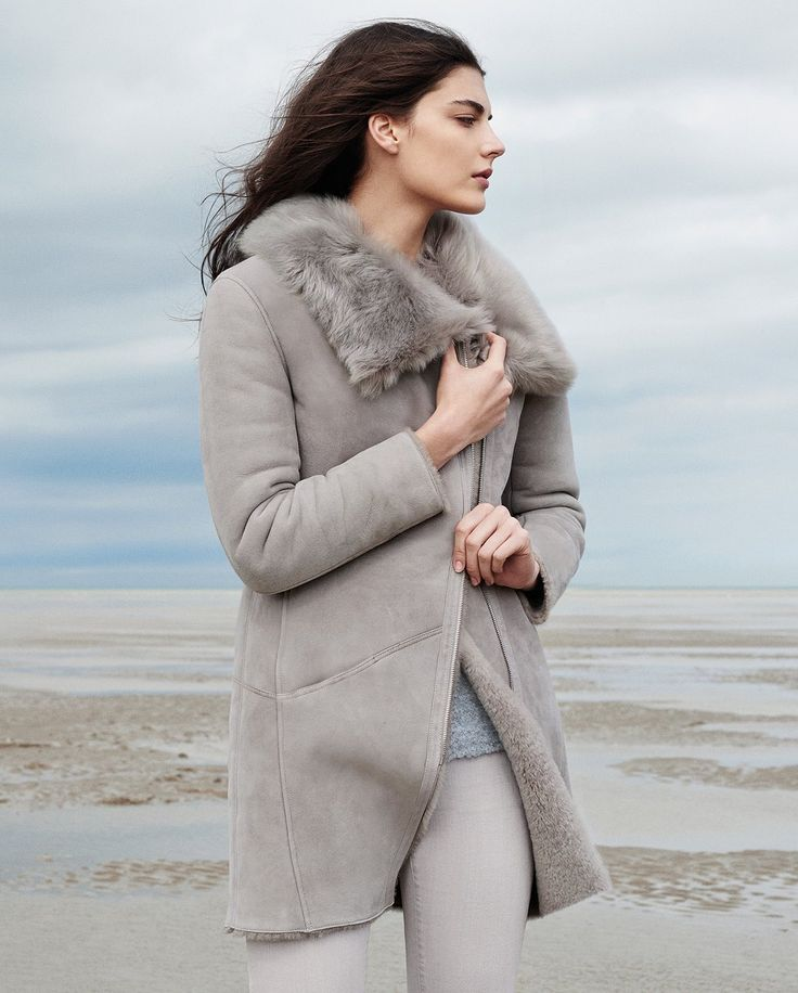 Poetry - Toscana shearling sheepskin coat #MyPoetryFavourites #PoetryFashion @poetryfashion