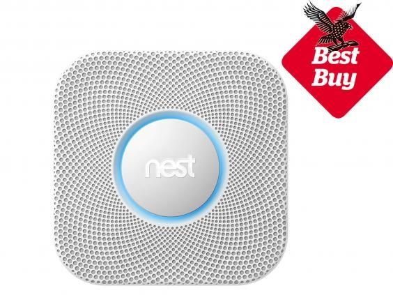 This smoke detector can talk to you and let you know when there's a problem and alerts can be viewed or silenced from your phone. Clever, and it's as dependable as a normal smoke and carbon monoxide indicator, too.