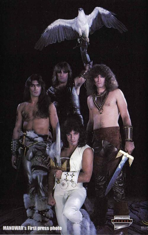 Manowar... Does this picture even realllllly need a caption?