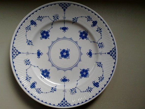 Vintage lunch plates Mason's Ironstone Denmark by Scandipots, $14.00