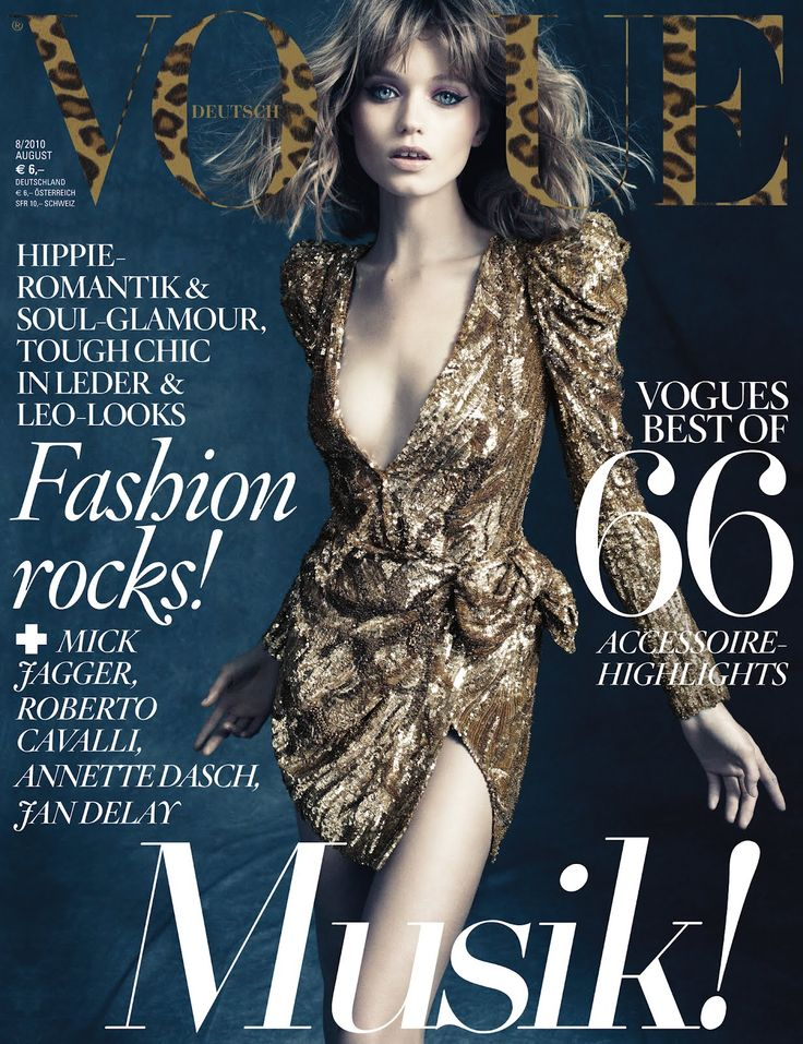 85 best magazine covers images on pinterest fashion cover abbey lee kershaw vogue germany august 2010 fandeluxe Choice Image