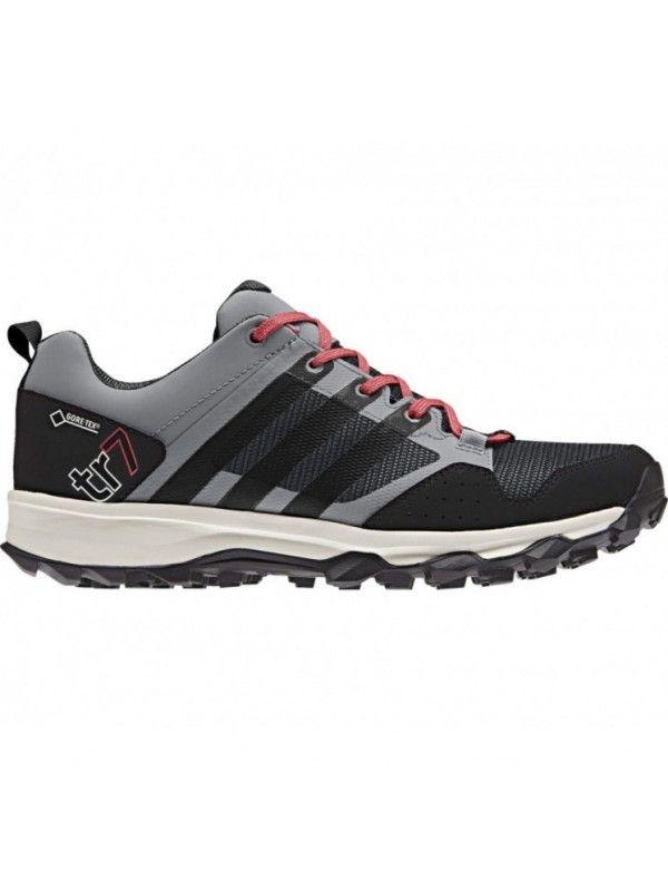 promo code 79a31 4ae3e adidas Kanadia Trail 7 GTX Womens Running Shoes - Grey