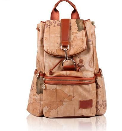 Fashion map backpack bag · fanewant · Online Store Powered by Storenvy