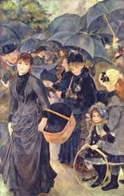 Renoir, Gli ombrelli, 1881-86, olio su tela, Londra, National Gallery