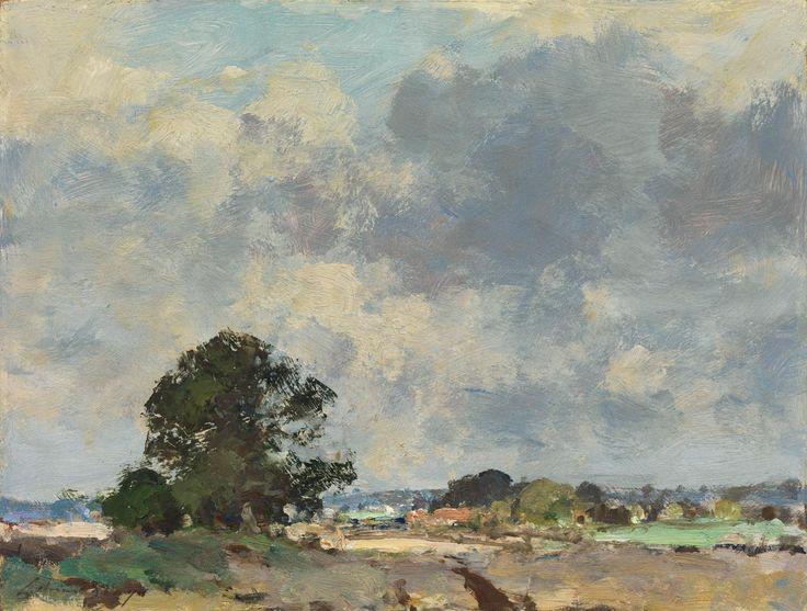 Edward Seago ,Landscape near Upton - Norfolk