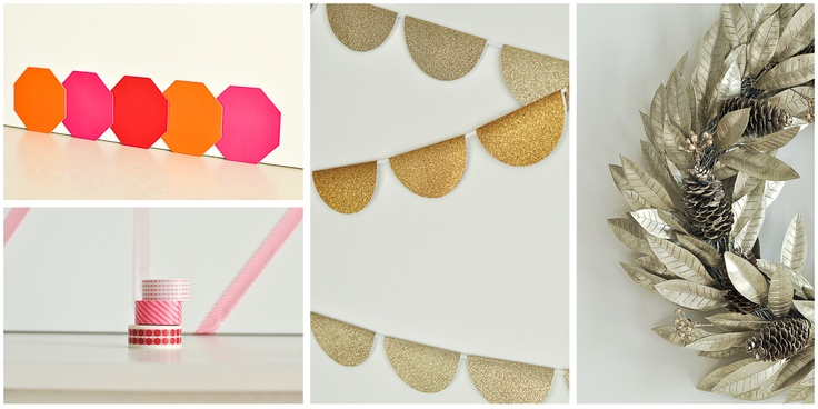 Four quick, easy and less than $15 DIY backdrops for parties
