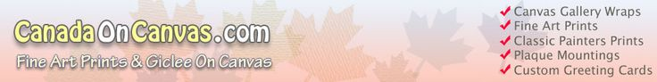 Canada Print On Canvas, Custom Made Wood/Metal Frames, Block Mounting & Handmade Oil Paitings