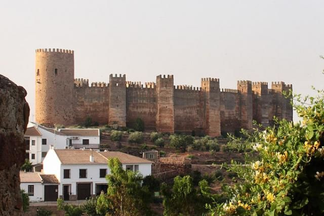 CASTLES OF SPAIN - Burgalimar Castle, Jaén. In the 11th century the castle became the object of contention between the Moors and the Christians. In 1147 Alfonso VII of Leon conquered the castle from the Moors, but on his death in 1157 was taken over by the Moors. In 1189 Alfonso VIII of Castile recuperate the castle. In 1212 the Moors again gained control of the castle. In 1225 Fernando III of Castile finally regained the castle and it became part of the Kingdom of Castile.