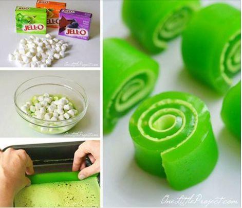 Fun Jello Roll Ups To Make - Afternoon Baking With Grandma
