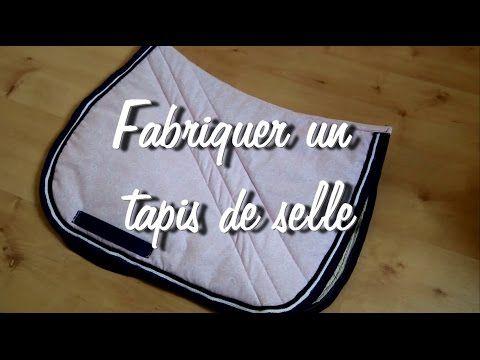 [Tuto #6]  Fabriquer un tapis de selle (tutoriel détaillé)