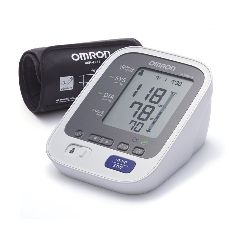Omron Healthcare M6 Comfort Upper Arm Blood Pressure monitor: Amazon.co.uk: Health & Personal Care