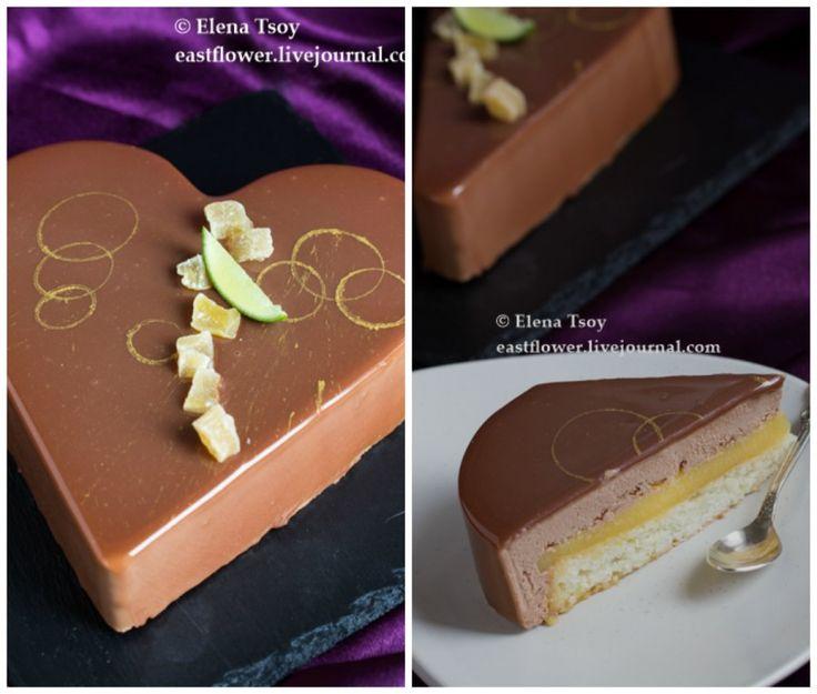 Торт лайм-имбирь