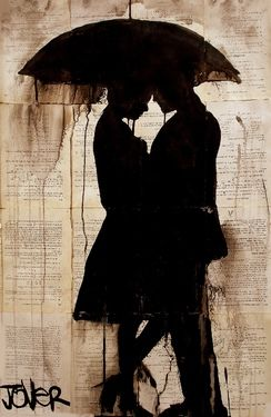 "Artist Loui Jover; Drawing, ""rendezvous"""