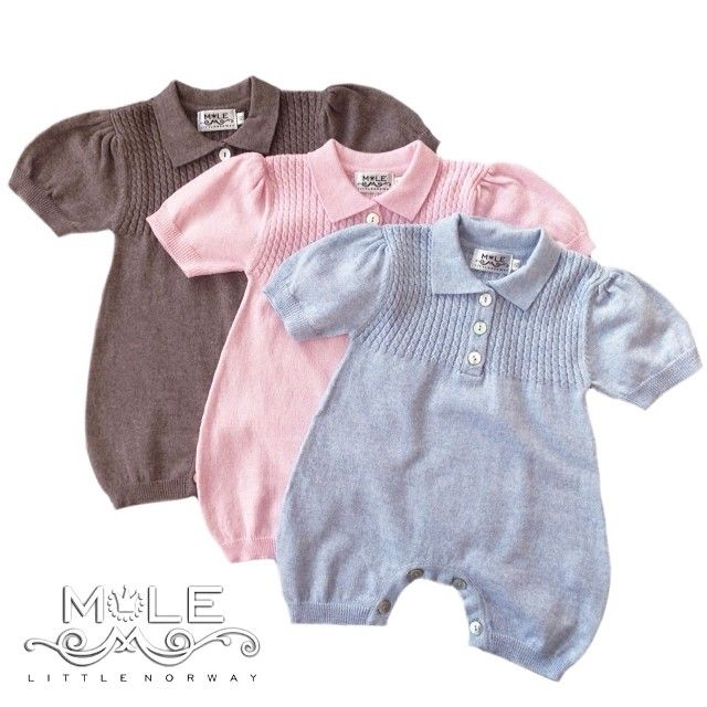 Lovely soft babyknits for summer by MOLE-Little Norway - www.mole.no