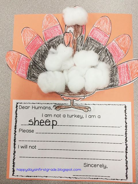 Happy Days in First Grade: A New Name & A Turkey Freebie!