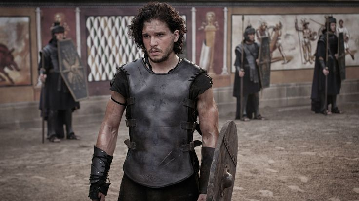 Game of Thrones' Kit Harington plays a gladiator who finds love, friendship and vengeance — all in one fateful weekend — in the shadow of Mo...