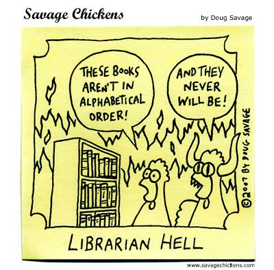horror - Librarian Hell!
