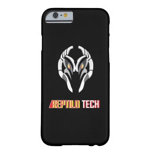 """Reptilo Tech"" Barely There iPhone 6 Case"