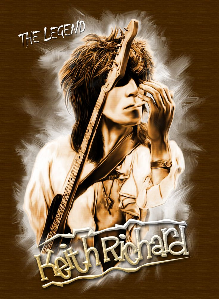 Keith Richards By Joen@f