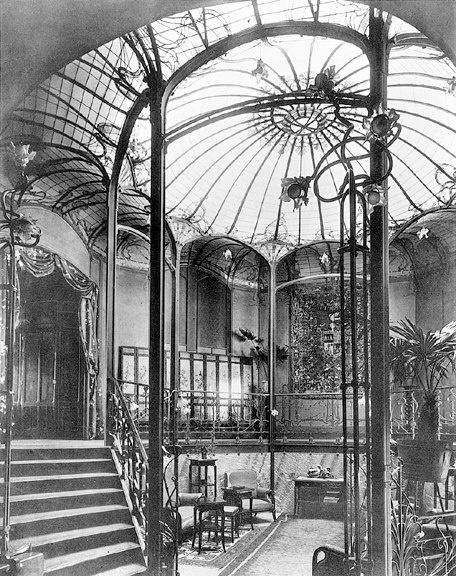Hotel Van Eetvelde Victor Horta 1900's Brussels